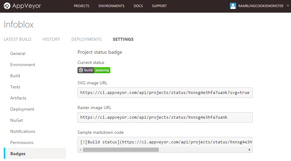 how to add badges to github